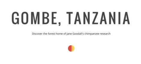 Street View - Parque Nacional de Gombe